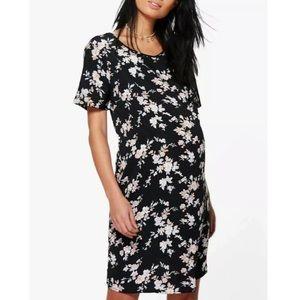 ❤️Maternity dress boxy fit floral size 4